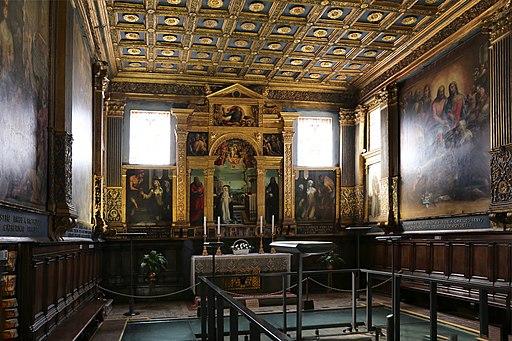 Santuario di santa Caterina, oratorio Superiore o della cucina
