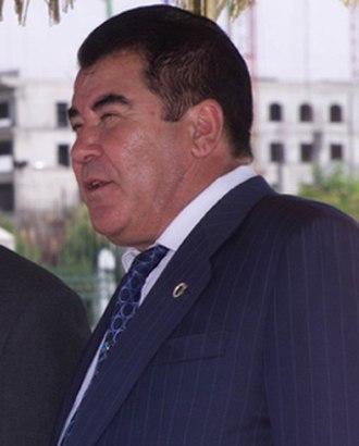 Saparmurat Niyazov - Image: Saparmurat Niyazov