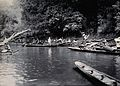 Sarawak; a native Malaysian tribe fishing on the Baram River Wellcome V0037411.jpg