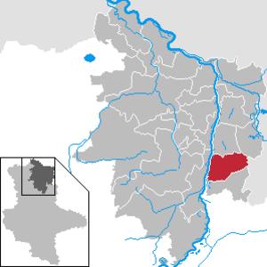Schönhausen - Image: Schönhausen (Elbe) in SDL
