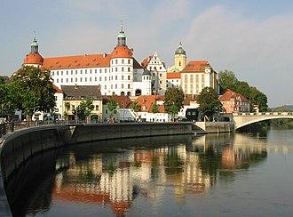 Neuburg an der Donau - Residenzschloss, the seat of Palatine Electors.