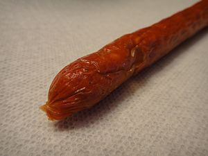 Pepperette - Image: Schneiders Pepperettes Hot Sausage Pepperoni (5574544267)
