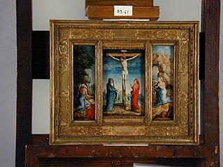 Crucifixion, St. Jerome, St. Mary Magdalene