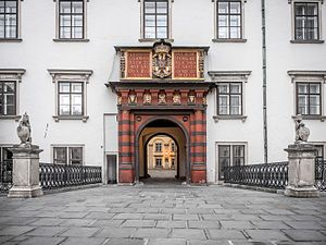 Hofburg - The Swiss Gate (Schweizertor), original main gate