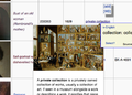 Screen Shot Listeria list of paintings showing mouse hover on link for private collection.png
