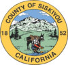 Official seal of Siskiyou County, California