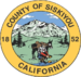 Seal of Siskiyou County, California