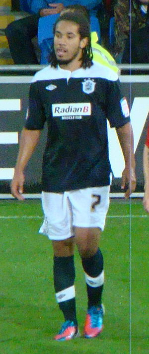 Sean Scannell - Scannell playing for Huddersfield Town in 2012