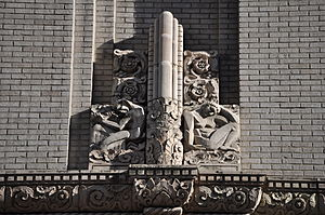 Washington Athletic Club - An architectural detail on the building's facade