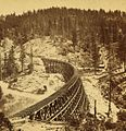 Secret Town, trestle from the west, length 1,100 feet, by Watkins, Carleton E., 1829-1916 (cropped).jpg