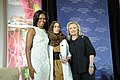 Secretary Clinton and First Lady Obama With 2012 IWOC Award Winner Hana El Hebshi of Libya (6967040591).jpg