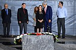File:Secretary Kerry Stands With Yitzhak Rabin's Daughter at the Assassination Site (10695585666).jpg