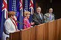 Secretary Pompeo, Secretary Mattis, Foreign Minister Bishop, and Defence Minister Payne Participate in a Joint Press Availability during AUSMIN (42900036764).jpg