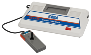 SG-1000 video game console manufactured by Sega