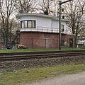 Seinhuis bij spoorwegovergang, overzicht westgevel - Utrecht - 20344305 - RCE.jpg