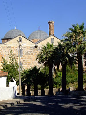 Selçuk - The Isa Bey Mosque on Ayasoluk Hill