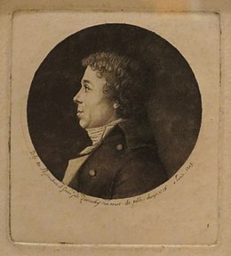 Self-portrait by Edme Quenedey, 1803, physionotrace and aquatint, Honolulu Museum of Art.JPG