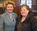 Senator Stabenow meets with a Michigan constituent. (16306297058).jpg