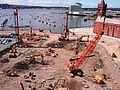Senedd construction site - Aerial view 08-06-01.jpg