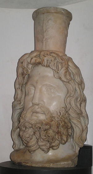 London Mithraeum - Head of Serapis found in the 1954 excavations.