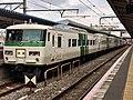 Series 185 B5 in Narita Station 04.jpg