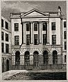 Serjeants' Inn, Fleet Street, London. Engraving by J. Shury Wellcome V0013123.jpg