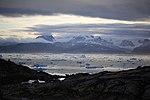 Panorama du fjord vue depuis la rive est.