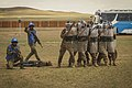 Service members with the Malaysian Army participate in riot control training during Khaan Quest 2016 (Image 1 of 20) 160601-M-BN829-162.jpg