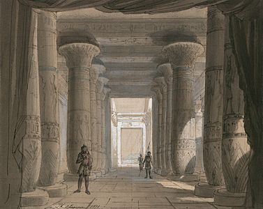 Aida Act I, Scene 2.
