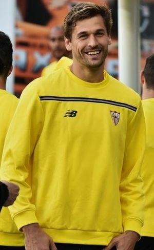 Fernando Llorente - Llorente with Sevilla in 2016