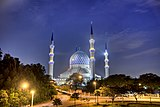 Shah Alam Blue mosque at night.jpg