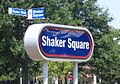 Shaker Square Cleveland RTA sign.JPG