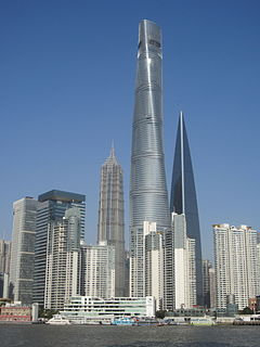 Shanghai Tower (december 2015)