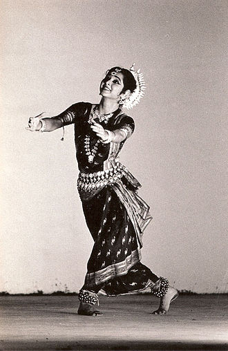 Puri district - Sharmila Biswas performing Odissi in a dance festival in Kerala