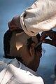 Shaving of scalp hair in Kolkata.jpg