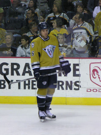 Shea Weber - Weber with the Nashville Predators