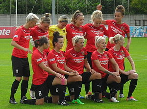 Sheffield F.C. Ladies - Sheffield LFC in August 2015