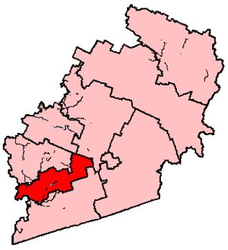 Shefford (electoral district) - Image: Shefford