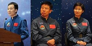 Shenzhou 9 - Image: Shenzhou 9 crew