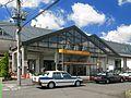 Shinden Station east entrance 20120924.jpg