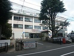 Shiogama city hall Government building.JPG