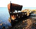 Shipwreck of gayundah,woody point,22-08-2013 (3) (9564389201).jpg