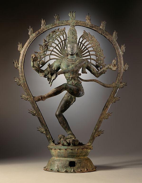 Shiva Nataraja. Art Chola, Tamil Nadu (Inde vers 975) au musée du LACMA.