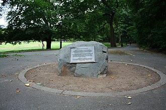 Inwood Hill Park - Shorakkopoch Rock