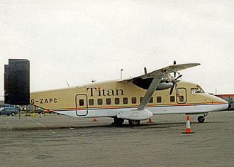 Titan Airways - Titan Airways Short 330 in 1994