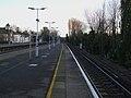 Shortlands station Herne Hill westbound platform look east2.JPG