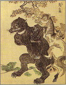 Diabolisation de l'Ours dans OURS 220px-ShunsenOniguma