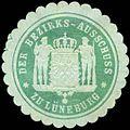 Siegelmarke Der Bezirks-Ausschuss zu Lüneburg W0260467.jpg
