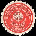 Siegelmarke Der Hamburgische Landes Delegirte des Kaiserlichen Kommissar und Militär Inspekteur der Freiwilligen Krankenpflege W0224107.jpg