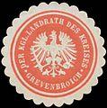 Siegelmarke Der K. Landrath des Kreises Grevenbroich W0382015.jpg